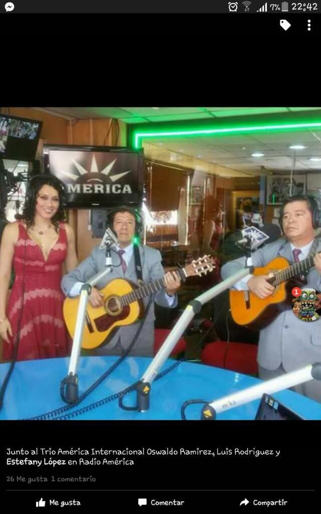 Trio Musical  Quito América Internaciona