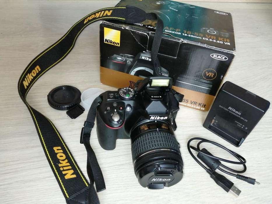 Nikon D5300 Accesorios Y Trípode Poc Uso
