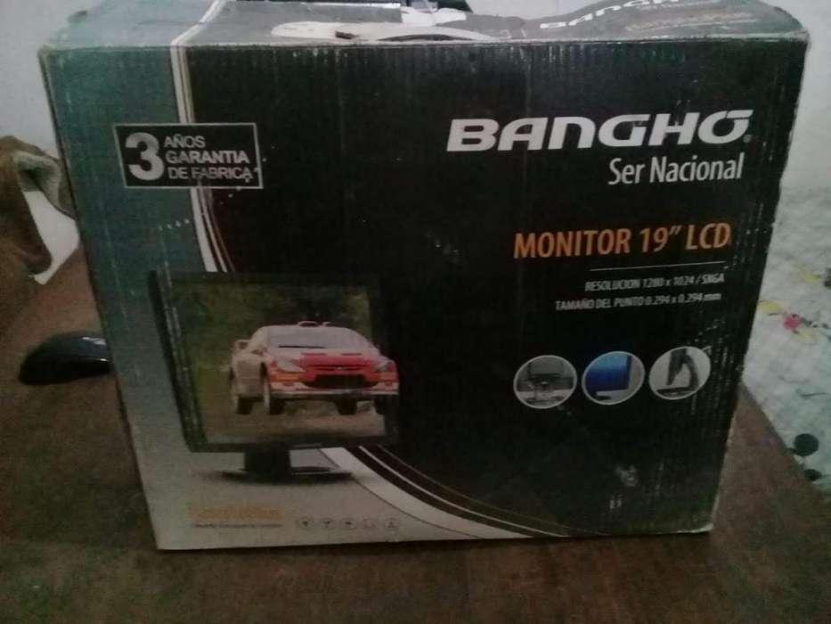 MONITOR BANGHO 19 LCD