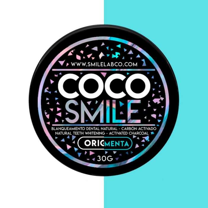 Blanqueador dental natural COCO SMILE