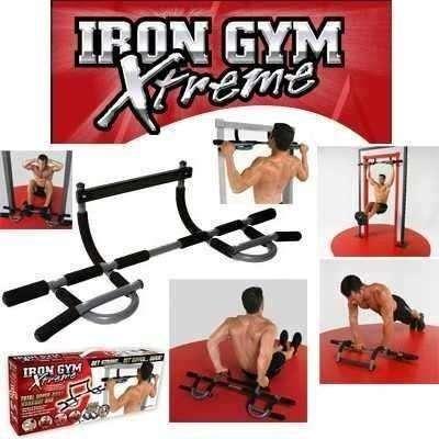 Iron Door Gym Xtreme Barra Gimnasio Para Puerta Obsequio