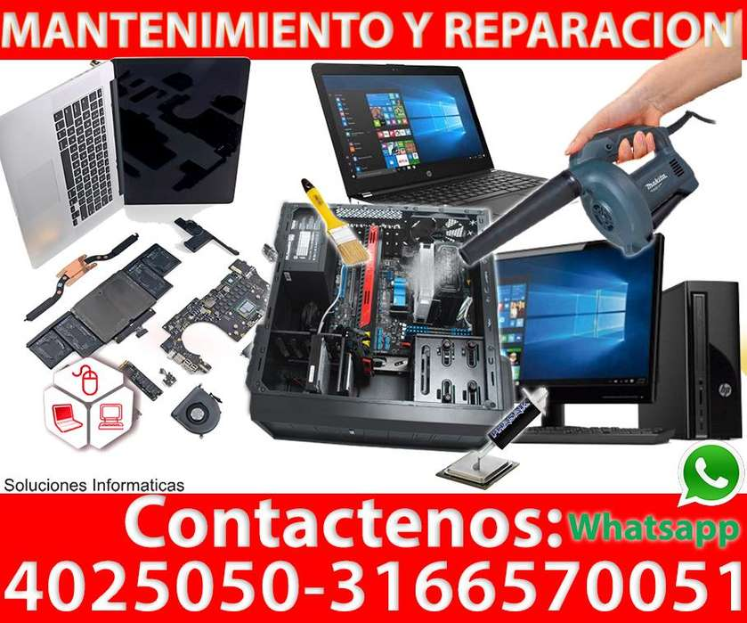 Reparación de computadores en Cali Tel:4025050 3166570051 whatsapp