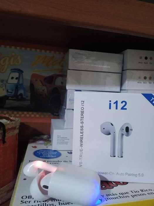 Audifonos Bluetooth I 12