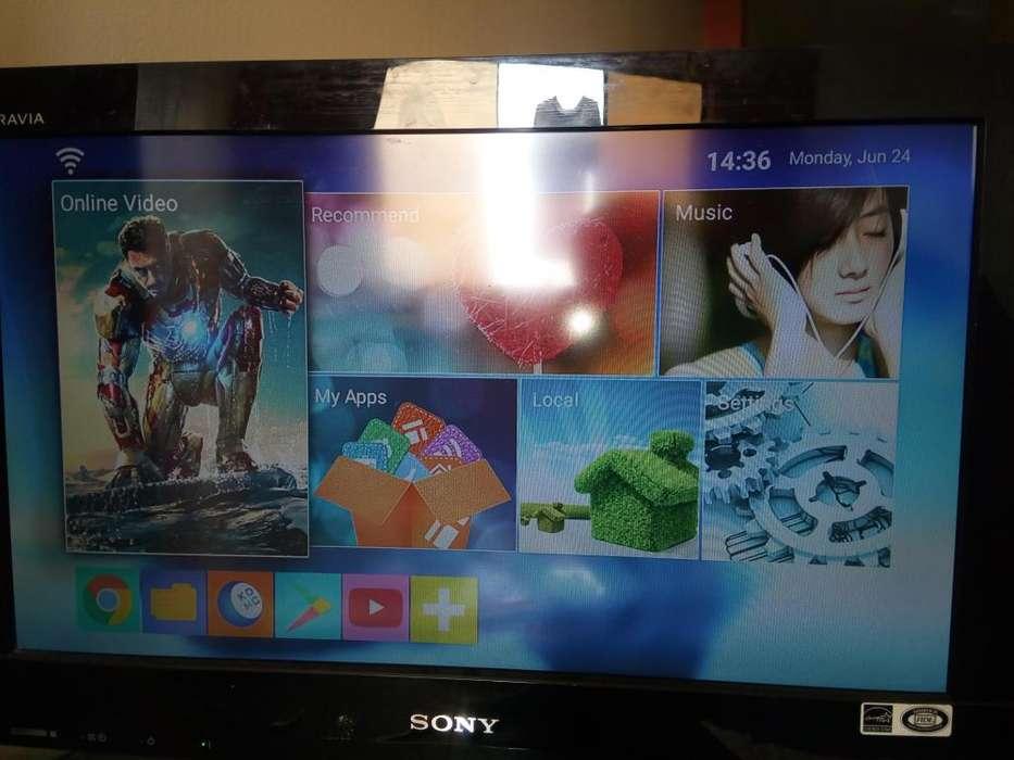 TV Sony brava 22 TV box