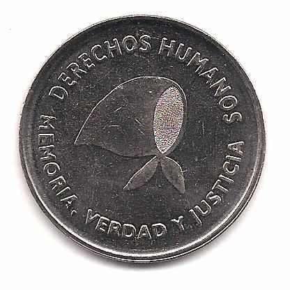 Moneda Conmemorativa de los Derechos Humanos