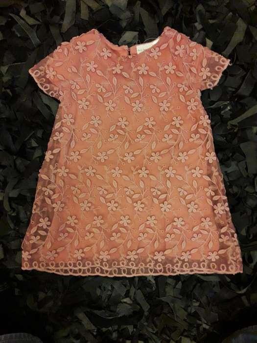 Vestido de Niña Zara