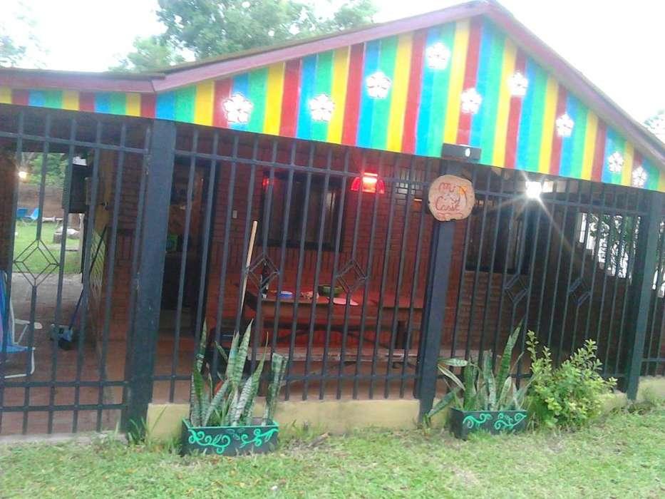 Casa estilo cabaña Paso de la Patria verano 2020