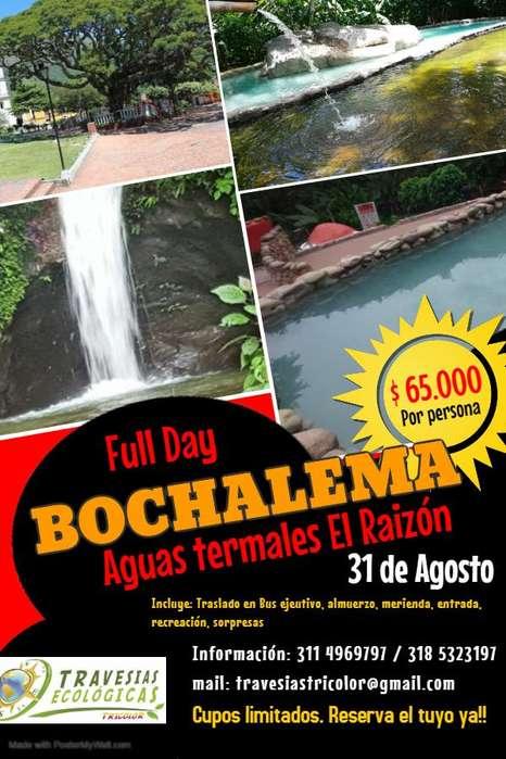 Full Day a Bochalema - Termales El Raizón
