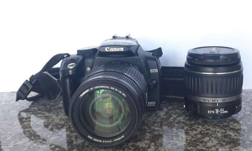 CÁMARA REFLEX DIGITAL 8 MP CANON EOS 350D / COD: Z069-10-53