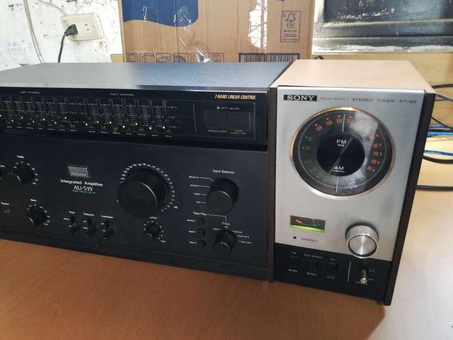 Tuner Ecualizador Amplificador