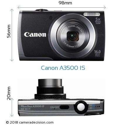 Cámara Digital Canon Powershot A3500 IS Hd Wifi excelente estado