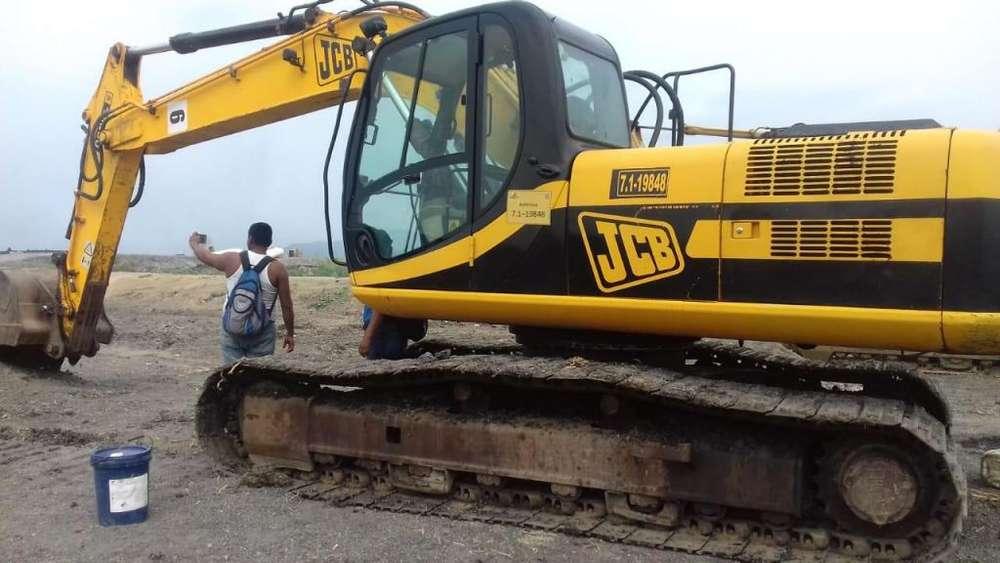 Excavadora de Orugas JCB JS200 similar a una CAT 320 del año 2008