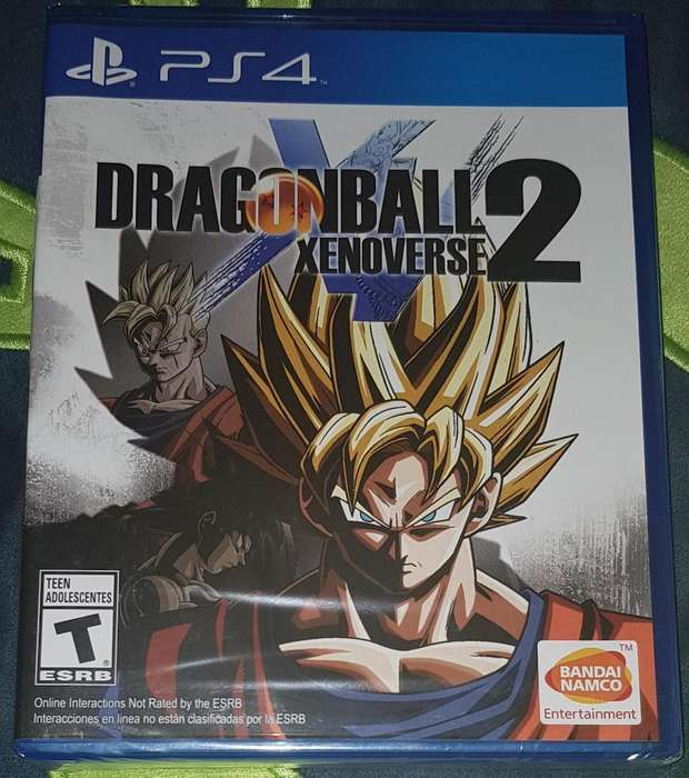 Dragon Ball Xenoverse 2 Ps4 Sellados