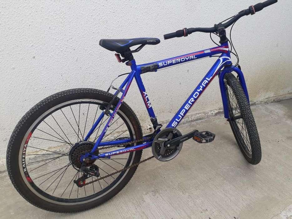 Vendo Bicicleta Super Royal