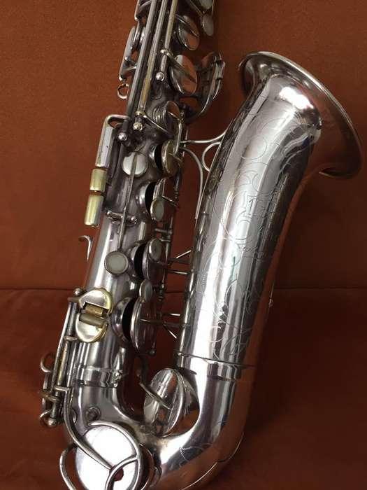 Espectacular Saxofon Alto Martin Committe III
