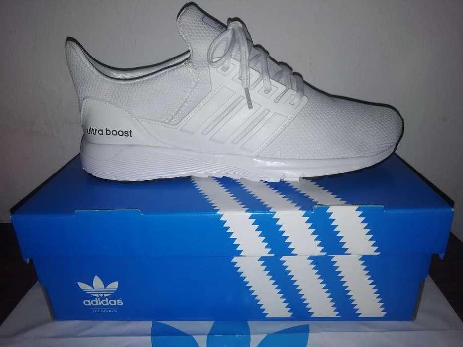 Adidas Ultra Bost Blancas 42 Y Negras 40