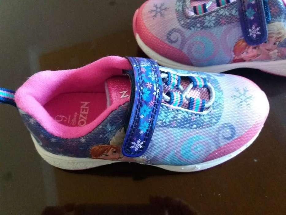 Zapatos de Niña Frozen Talla 9 Americano
