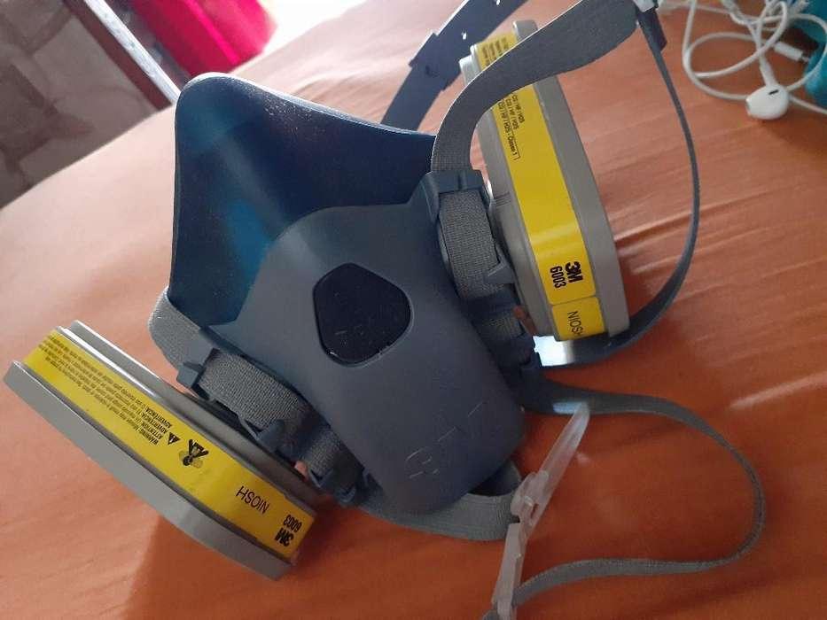 Máscara Doble Filtro 6003 3m