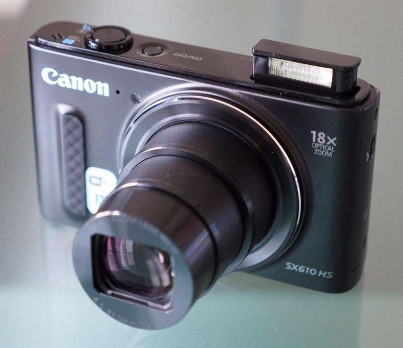 Camara Digital Canon Sx610 Hs 20mp 18x Zoom Wfi 3