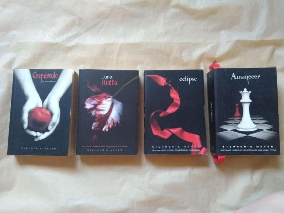 Libros Saga Crepúsculo Y The Host