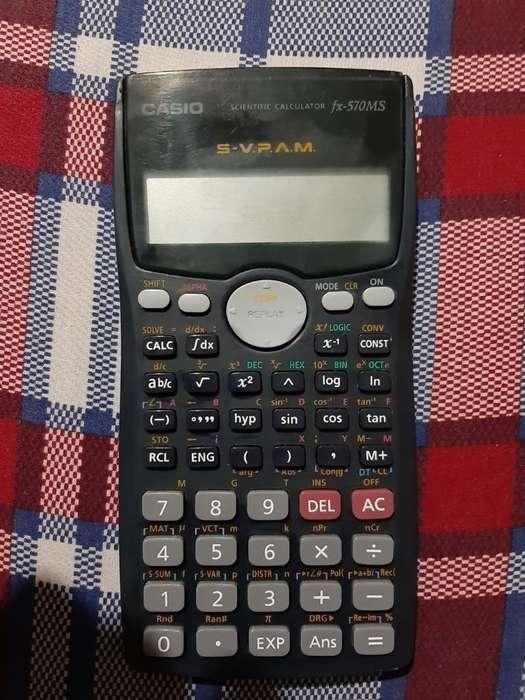 <strong>calculadora</strong> Casio Fx570ms