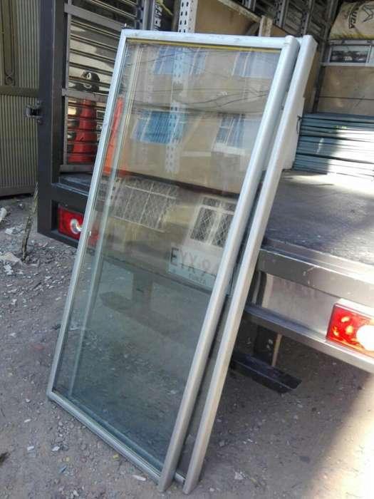 4 Puertas en Vidrio para Refrigeración