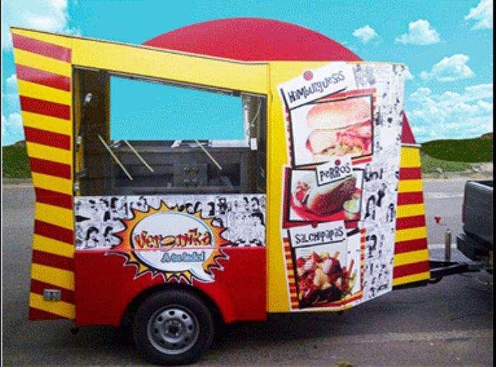 Trailer para comidas food truck