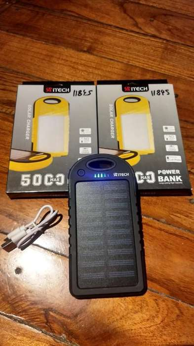 Cargadores Portátiles Solar