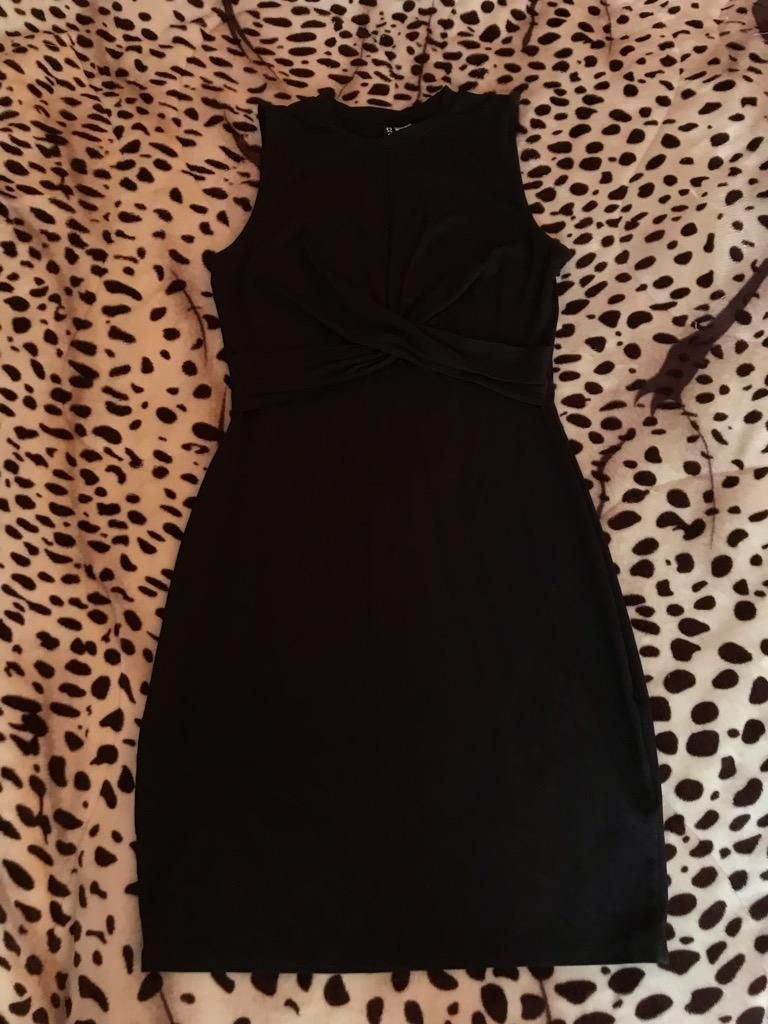 compras vista previa de ofrecer descuentos Vestido Negro Coctel H&M Talla S - Lima