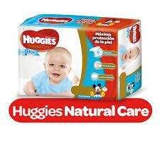 HUGGIES NATURAL CARE ELLAS - ELLOS PACK x2 PAQUETES