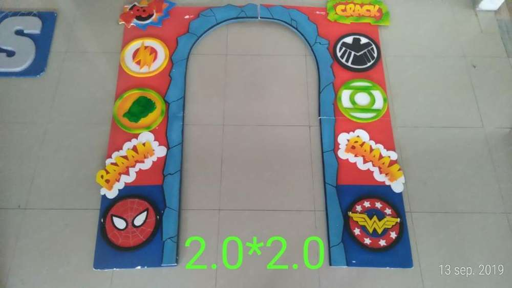 Decoracion Fiesta Superheroes