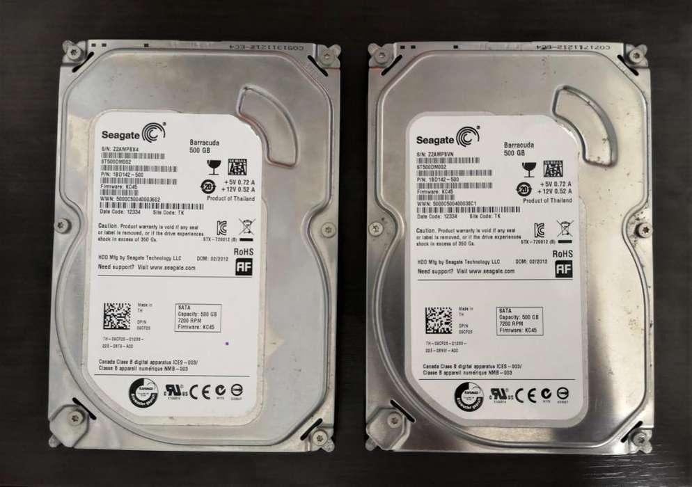 DISCO DURO SEAGATE 500GB