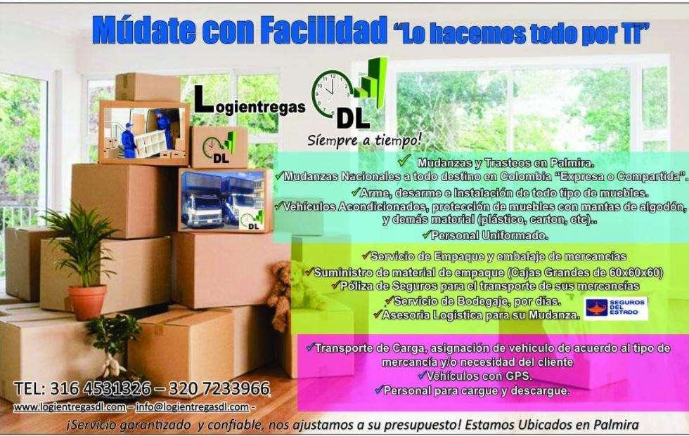 MUDATE CON FACILIDAD LO HACEMOS TODO POR TI 3164531326