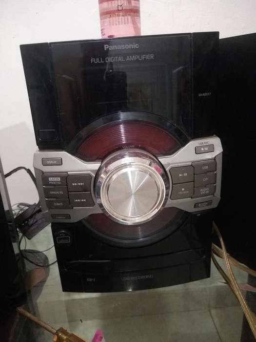 Vendo Equipo Panasonic Memoria Usb Diez