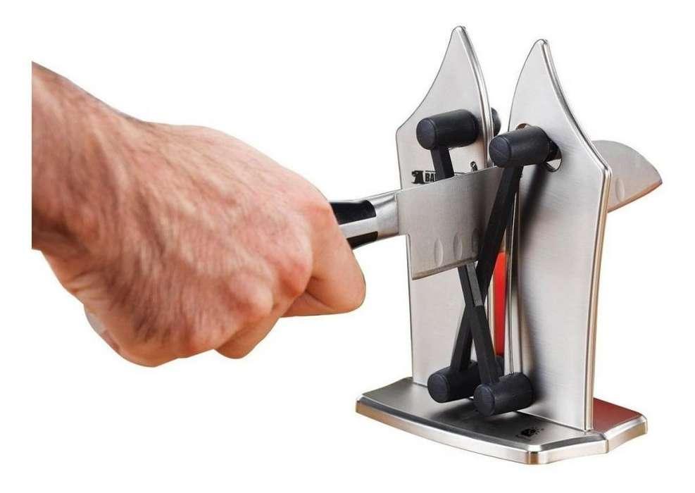 Afilador Profesional Manual Cuchillos Tijeras Limas nuevo 3143393760
