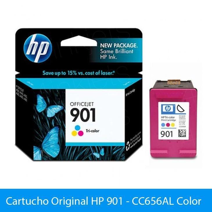 Cartucho de tinta HP 901 tricolor