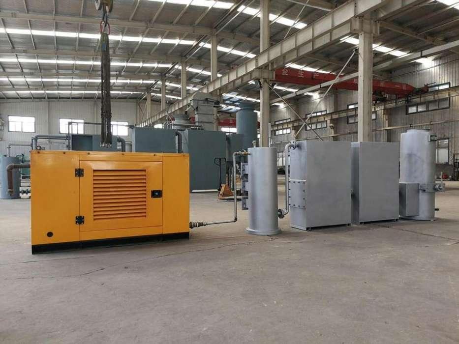 Generador energía con gas de Biomasa 5kw 10kw