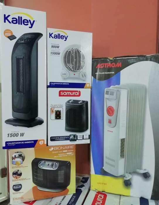 Calefactores Nuevos desde 65000