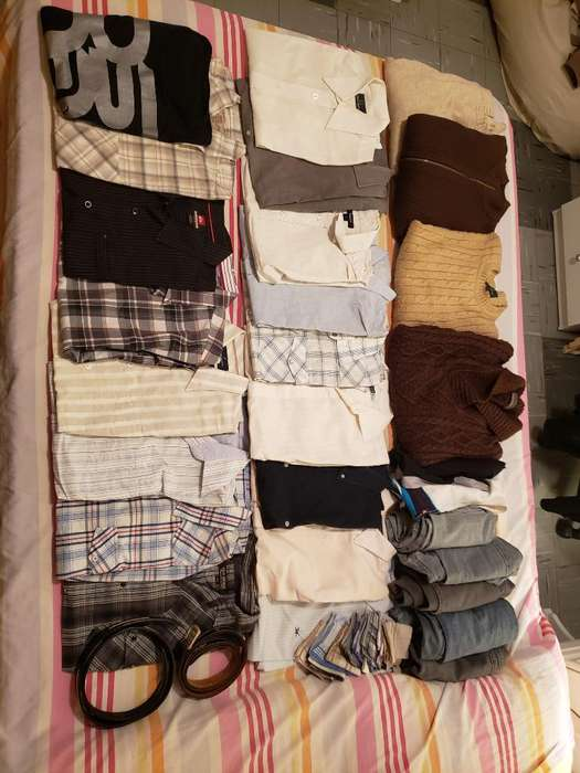 Lote Ropa Hombre Pantalón Camisa Sweater