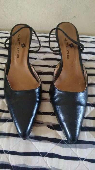 Zapatos Dama Cuero Fiesta