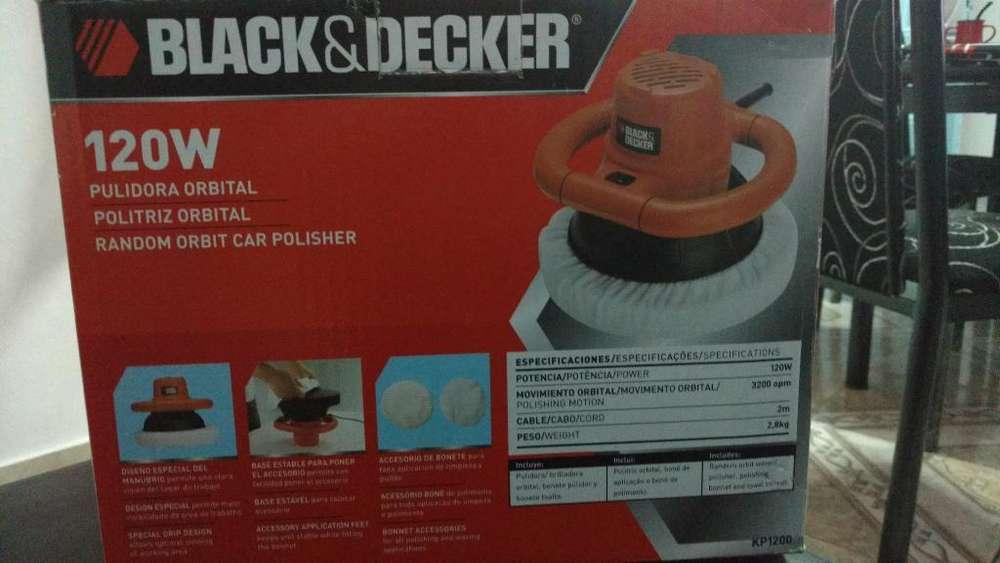Pulidora Orbital Blackdecker