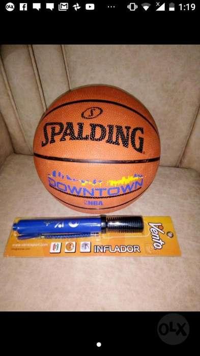 Balón de Baloncesto O Basketball E Infla