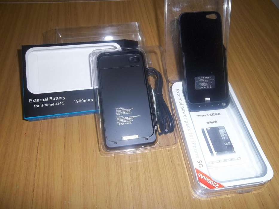 Vendo funda batería Iphone 4/4s y 5G.