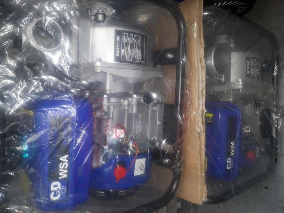 Plantas electricas desde 950 wattss y moto bombas de salida de 2 y 3 nuevas