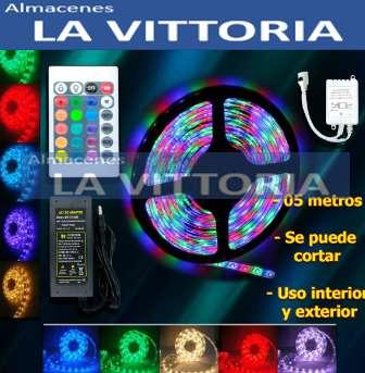 Cinta Led Con Control Multi Color 5M