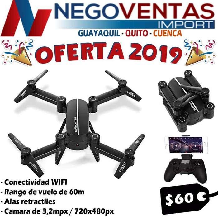 OFERTA POR EL DIA DEL PADRE DRON SKY HUNTER CON CAMARA Y SOPORTE DE CELULAR