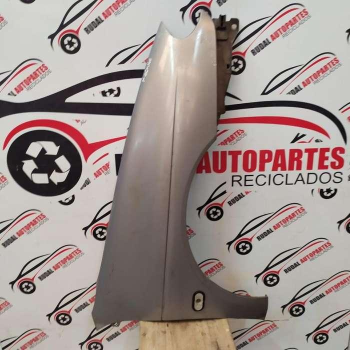 Guardabarro Delantero Derecho Renault Megane 3420 Oblea:03033156