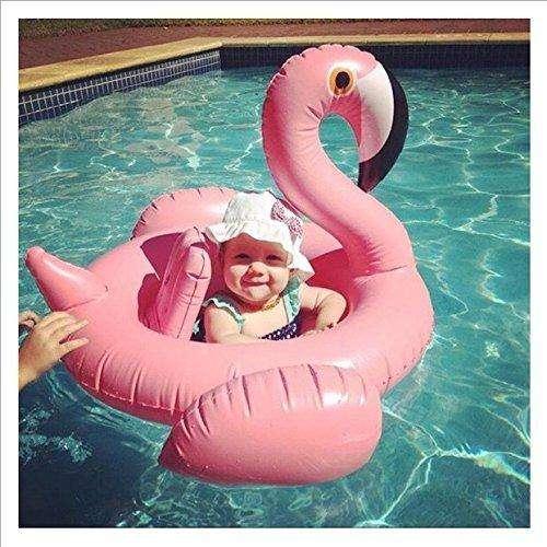 Niños Flotador Inflable Natación Ayudas Piscina Flamingos