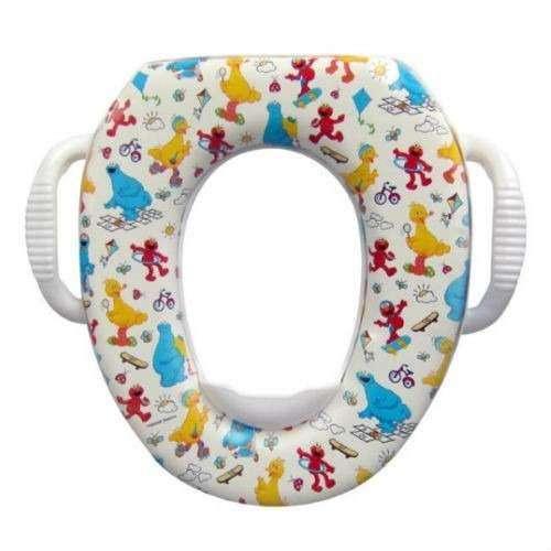 Asiento Sanitario Baño Infantil Plástico Acolchado