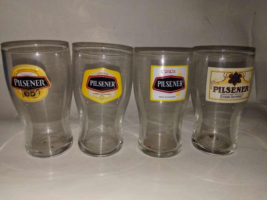 Pilsener Vasos Coleccionables